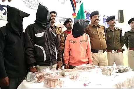 पन्ना: NGO में हुई 10 लाख रुपये की चोरी का खुलासा, तीन कर्मचारी गिरफ्तार