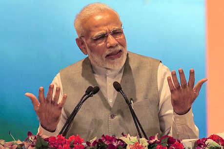 राफेल पर PM मोदी ने रामचरित मानस की चौपाई से दिया जवाब, कहा- झूठ ही खाती और चबाती है कांग्रेस