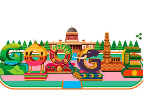 70वें गणतंत्र दिवस पर गूगल ने बनाया खास डूडल, दिखती है भारत की झलक