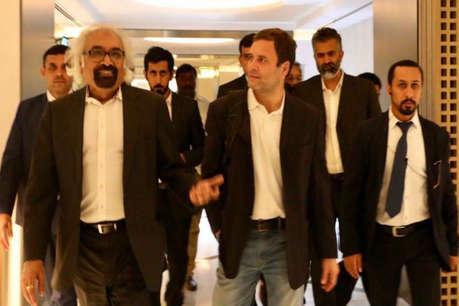 राहुल गांधी दो दिन के दौरे पर दुबई पहुंचे, एयरपोर्ट पर हुआ जोरदार स्वागत