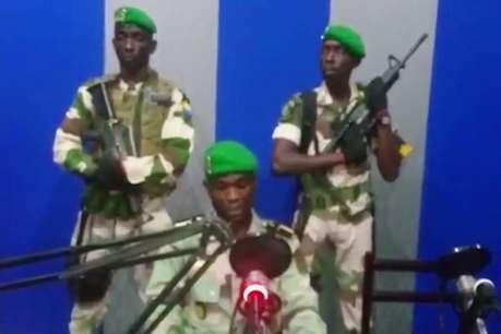 लोकतंत्र लाने के बहाने पश्चिम अफ्रीकी देश गबोन में सेना का तख्तापलट
