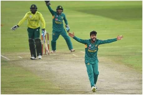 नौवें नंबर के बल्लेबाज के दम पर पाकिस्तान ने जीता तीसरा टी20, एक ओवर में बदल गया मैच