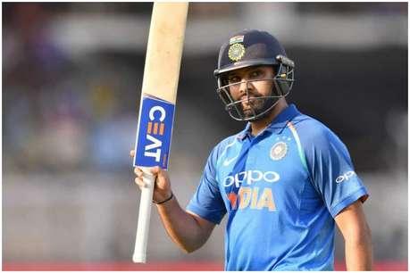 रोहित शर्मा ने पूरे किए 100 टी20 छक्के