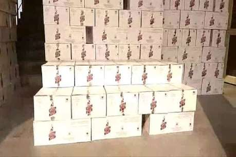 नूंह में पुलिस ने ट्रक से अवैध शराब की बड़ी खेप की बरामद