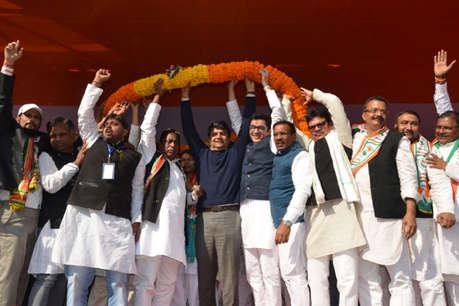 कांग्रेस की प्रमंडलीय रैली में विधायकों ने अलापा गोड्डा सीट का राग, प्रदेश अध्यक्ष बोले- बयानबाजी से बचें