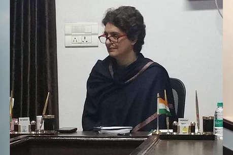 प्रियंका गांधी बोलीं- मैं चुनाव नहीं लड़ूंगी, संगठन को मजबूत करूंगी
