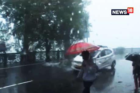 दिल्ली-एनसीआर में बारिश, तापमान गिरने से ठंड बढ़ी
