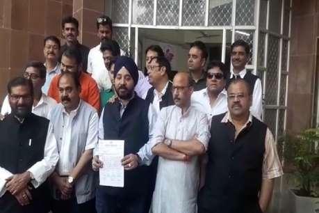 कांग्रेस ने चुनाव आयोग से की शिवराज और उनके साथियों की शिकायत