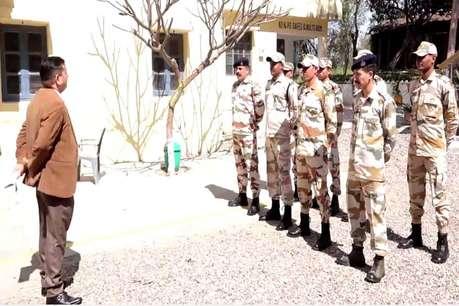 ऊना पहुंची अर्द्धसैनिक बल की एक टुकड़ी, संवेदनशील मतदान केंद्रों में गश्त शुरू