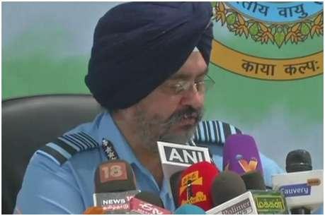 बालाकोट में एयर स्ट्राइक पर IAF चीफ का जवाब- हमारा काम टारगेट हिट करना था, लाशें गिनना नहीं