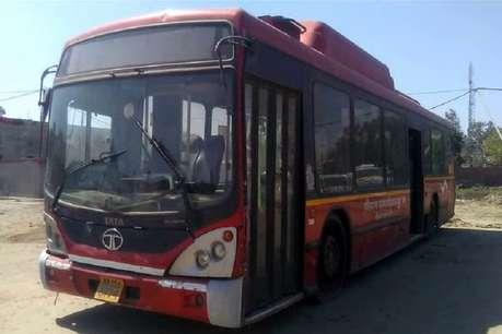 काफी प्रचार-प्रसार के बाद नूंह डिपो में आई एसी बस निकली पांच साल पुरानी और खटारा