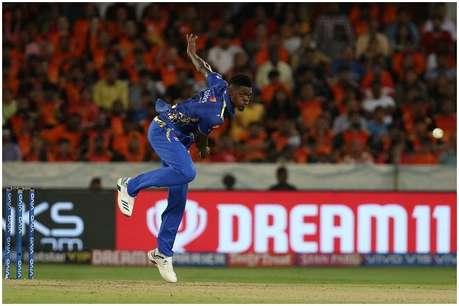 IPL 2019, SRH vs MI: अलजारी जोसेफ ने 22 गेंद में लिए 6 विकेट, मुंबई इंडियंस 40 रन से जीती