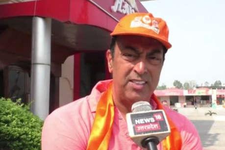 बीजेपी उम्मीदवार के पक्ष में प्रचार कर रहे बिंदु दारा सिंह ने कहा- मैं मोदी भक्त