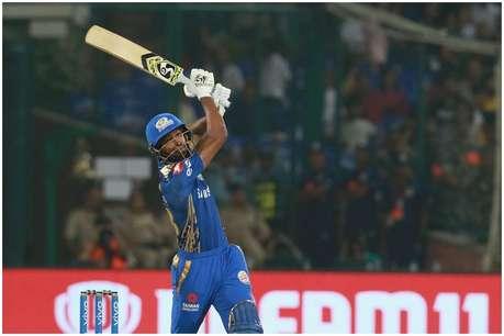 IPL 2019: हार्दिक पंड्या पर चढ़ा धोनी का रंग, यॉर्कर गेंद पर मारा 71 मीटर लंबा छक्का!