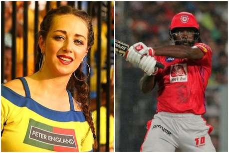 IPL 2019: चीयरलीडर की वजह से रोकना पड़ा मैच, गेल ने जताई थी 'आपत्ति'