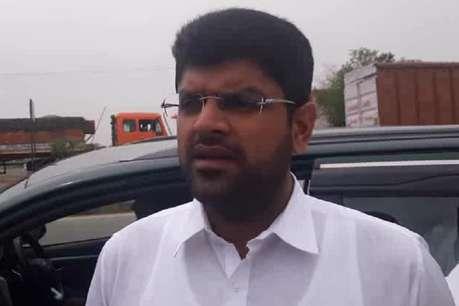 प्रदेश में चल रही JJP और AAP की लहर, जल्द प्रत्याशियों के करेंगे घोषणा: दुष्यंत चौटाला