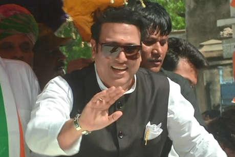 सनी देओल के बाद अजमेर पहुंचे गोविंदा, कांग्रेस के झुंझुनवाला का किया प्रचार