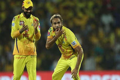 IPL 2019: इमरान ताहिर पहले गेंद से किया कमाल फिर जश्न मनाने से लूटा दर्शकों का दिल, देखें वीडियो