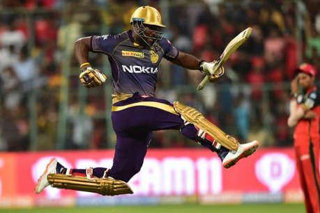 आईपीएल में हर पांचवीं गेंद पर रसेल के बल्ले से निकलता है छक्का, बन गए हैं सिक्सर किंग