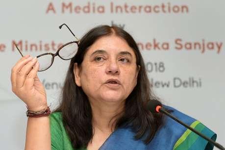 अपने भाषण वोट नहीं दिया तो नौकरी के लिए मत आना के वायरल होने पर आईटी सेल पर भड़की मेनका गांधी
