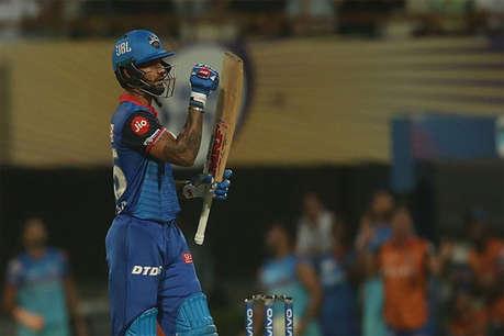 IPL 2019: धवन के तूफान में उड़ा कोलकाता, 7 साल बाद दिल्ली से घर में हारा