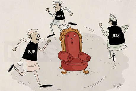 कर्नाटक में CM पद के लिए लखनवी तहज़ीब - 'पहले आप, पहले आप' का खेल