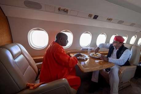 अखिलेश यादव ने CM योगी पर कसा तंज, ट्वीट की ये तस्वीर