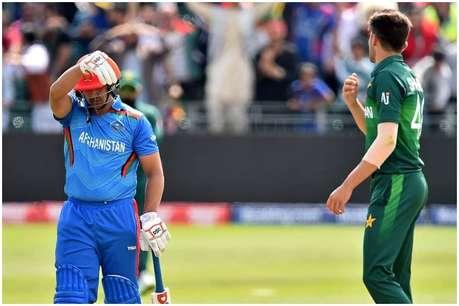 पाकिस्तान के खिलाड़ी ने की लाइव मैच में बदतमीजी, अफगानिस्तान के बल्लेबाज ने कहा...चल-चल निकल!