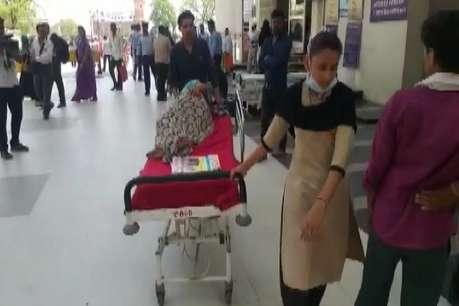DOCTORS STRIKE : ब्रेन हेमरेज का पेशेंट भी हड़ताल में फंसा