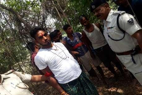 एनकाउंटर के दौरान पकड़ा गया 50 हजार का इनामी, दोनों तरफ से चलीं 70 राउंड गोलियां