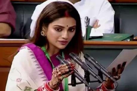 'नुसरत जहां मंगलसूत्र पहने तो हराम, हिंदू लड़की को बुर्के में रखे वो जायज'