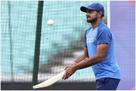 टीम इंडिया को बड़ी राहत,  प्रेक्टिस सेशन में चोटिल हुए विजय शंकर हुए फिट