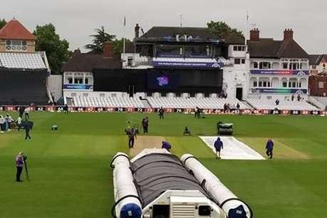 Trent Bridge, Nottingham Weather Report : नॉटिंघम में रुक-रुककर बारिश की आशंका, 50 ओवर का मैच होना मुश्किल