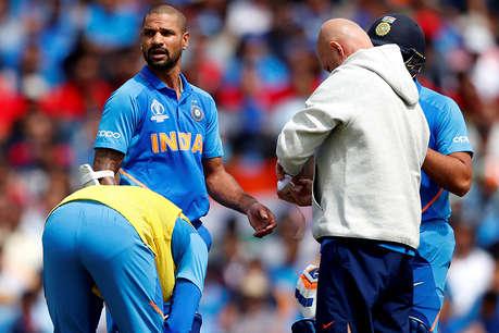 वर्ल्ड कप से बाहर हुए शिखर धवन, ऋषभ पंत टीम इंडिया में शामिल