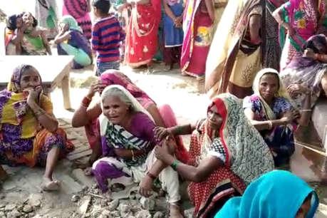 प्रतापगढ़ में किसान की हत्या, मौत के बाद बदमाशों ने जिंदा जलाया