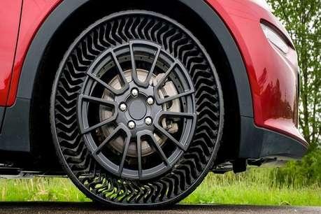 अब गाड़ी के टायर नहीं होंगे पंचर, ये कंपनी ला रही एयरलेस टायर