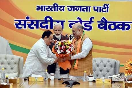 जेपी नड्डा होंगे भाजपा के कार्यकारी अध्यक्ष, पार्टी चीफ बने रहेंगे अमित शाह