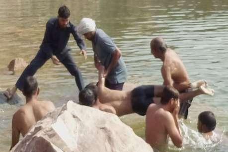 चरखी दादरी: दोस्तों के साथ नहाने गए छात्र की तालाब में डूबने से मौत