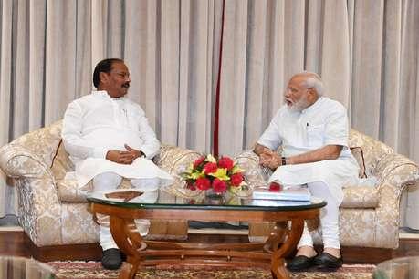 पीएम मोदी से मिले रघुवर दास, कहा- हम सभी नए भारत के निर्माण में जुटे हैं