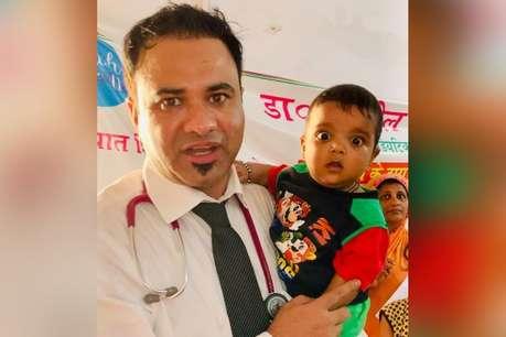 BRD गोरखपुर के 'चर्चित' डॉ कफील खान पहुंचे मुजफ्फरपुर, लगाया कैंप