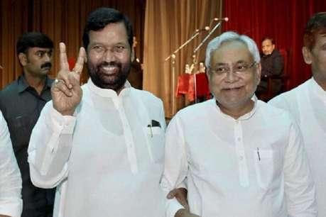 राज्यसभा के लिए पासवान के नामांकन में दिखेगी NDA की एकजुटता,  CM नीतीश भी रहेंगे मौजूद!