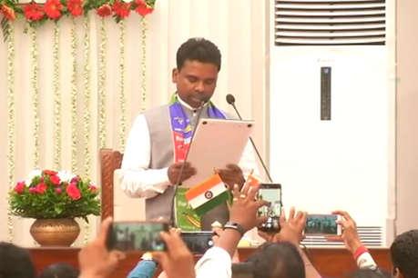आजसू विधायक रामचंद्र सहिस बने मंत्री, कभी घर चलाने के लिए पढ़ाते थे ट्यूशन