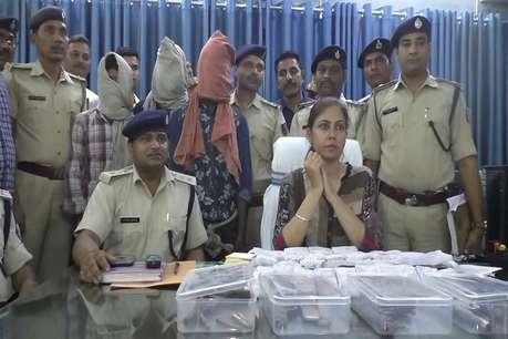 समस्तीपुर पुलिस की बड़ी कामयाबी, लूट और हत्याकांड सहित कई मामलों का किया खुलासा