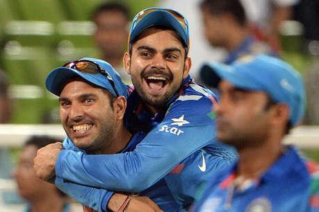 विदेशी क्रिकेटर ने युवी की तारीफ में उड़ाया कोहली का मजाक, पीछे पड़े भारतीय फैन