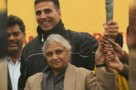 शीला दीक्षित के निधन पर बॉलीवुड में शोक की लहर, अक्षय कुमार ने किया ट्वीट
