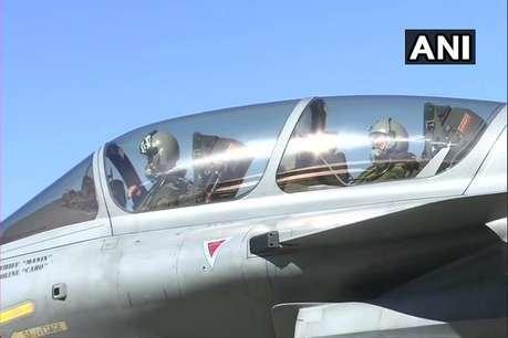 वाइस चीफ एयर मार्शल ने राफेल में भरी उड़ान, विमान को बताया गेम चेंजर