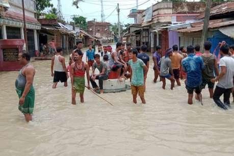 बाढ़ में फंसे बिहार के 19 लाख लोग, अबतक 46 की हुई मौत