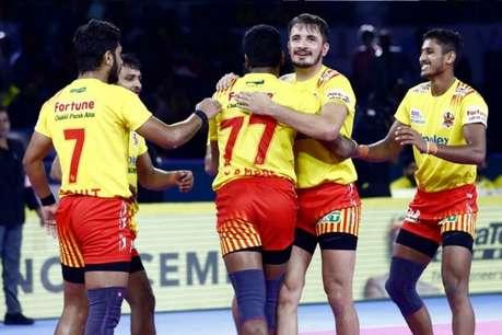 Pro Kabaddi League: यूपी के कमजोर डिफेंस पर हावी पड़ी गुजरात फॉर्च्यूनजायंट्स, हासिल की बड़ी जीत
