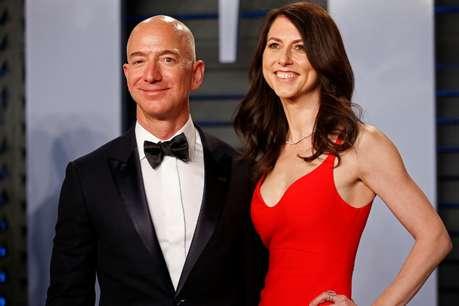 तलाक के लिए मैकेंजी बेजॉस को मिले 38 अरब डॉलर, बनी दुनिया की 22वें नंबर की अमीर