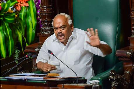 कर्नाटक: विधानसभा स्पीकर बोले- विधायकों ने अपनी मर्ज़ी से नहीं दिया इस्तीफा, पब्लिक सब जानती है